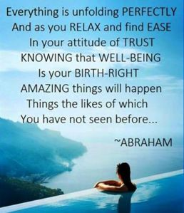 abraham unfolding perfectly