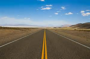car driving straight