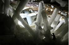 crystal cave selenite